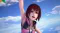 Screenshot of a trailer for Kingdom Hearts Memory of Melody