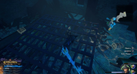 The High Seas / Southern Waters: Head to Ship's End island. Dive underwater, then head Northwest to find a tunnel. Continue through the shipwreck.
