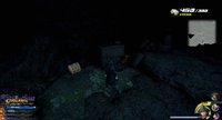 Port Royal / Settlement: Follow the waterfall off the cliff then run through it.