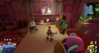 Galaxy Toys / Babies & Toddlers: Dolls: Climb the Bouncy Pets display and run across the hanging shelves.